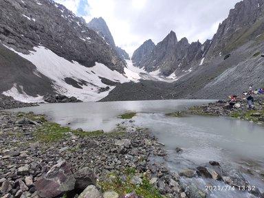 Белое озеро в июле