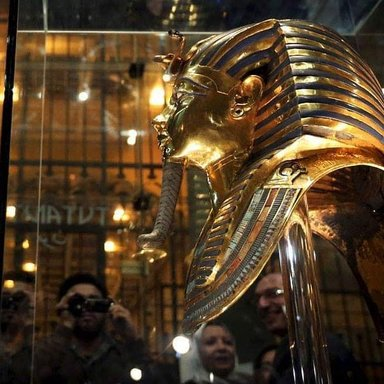 Golden Musk of the king Tut Ankh Amun