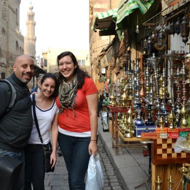 Shopping at Khan El Khalili Market