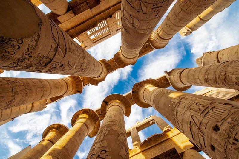 Karnak temple , Luxor