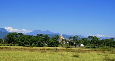 view from chitwan