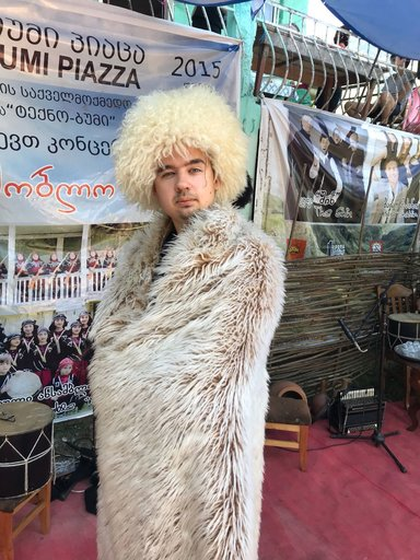 Фото в грузинской одежде