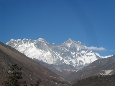 Everest from a distance