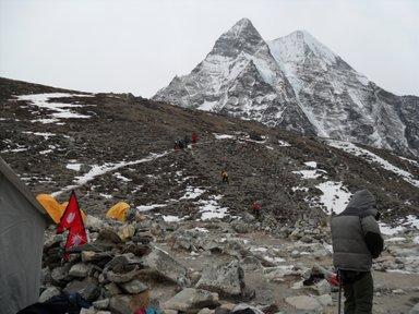 Island peak basecamp