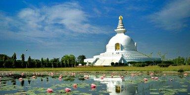 world peace stupa Lumbini