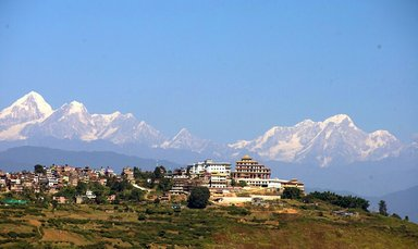 View from Cultural town Kirtipur