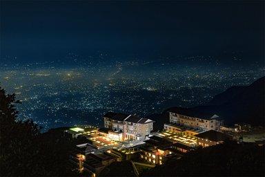A Luxury resort Chandragiri hill