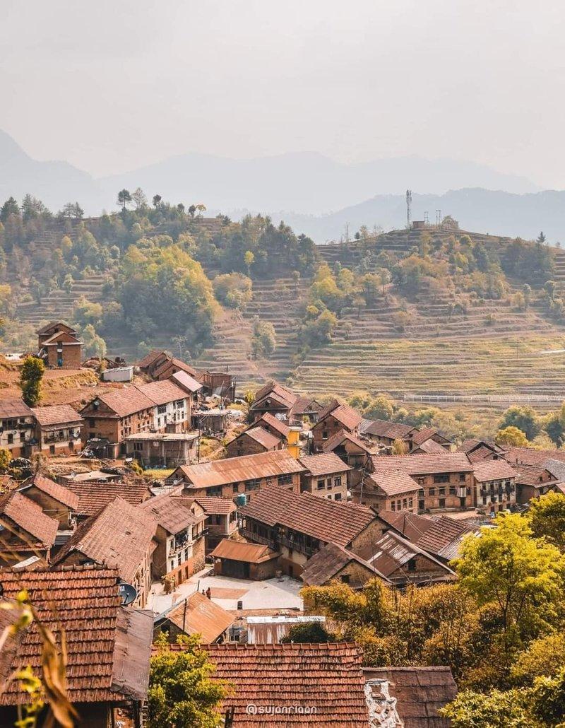 A typical Newari Village