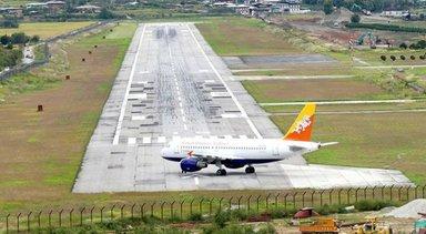 Bhutan airport