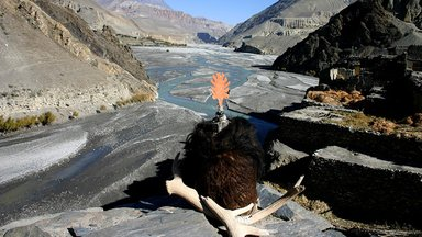 Kaligandaki river mustang