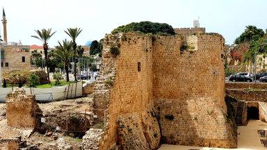 Акко, остатки крепостной стены