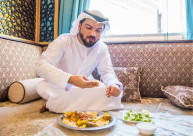 Как едят бедуины