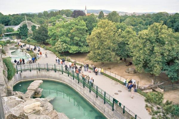 Достопримечательности Австрии - Шенбруннский зоопарк