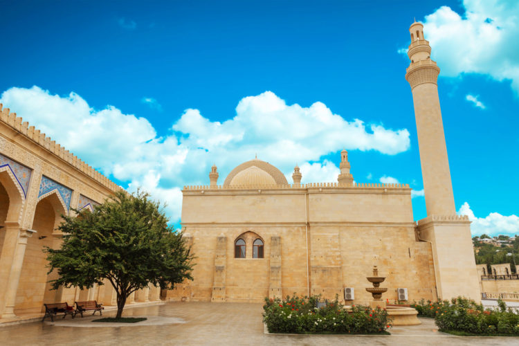 Достопримечательности Азербайджана - Джума мечеть