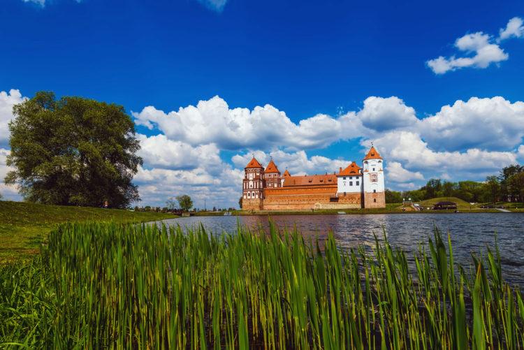 Достопримечательности Белоруссии - Мирский замок