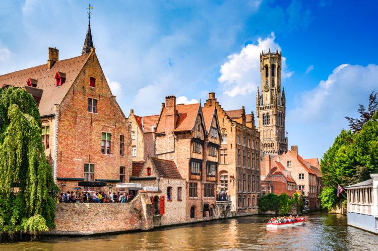 Достопримечательности Бельгии - Дворец Белфри и башня Галл