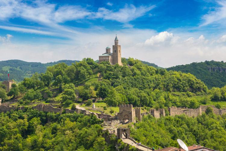 Достопримечательности Болгарии - Крепость Царевец