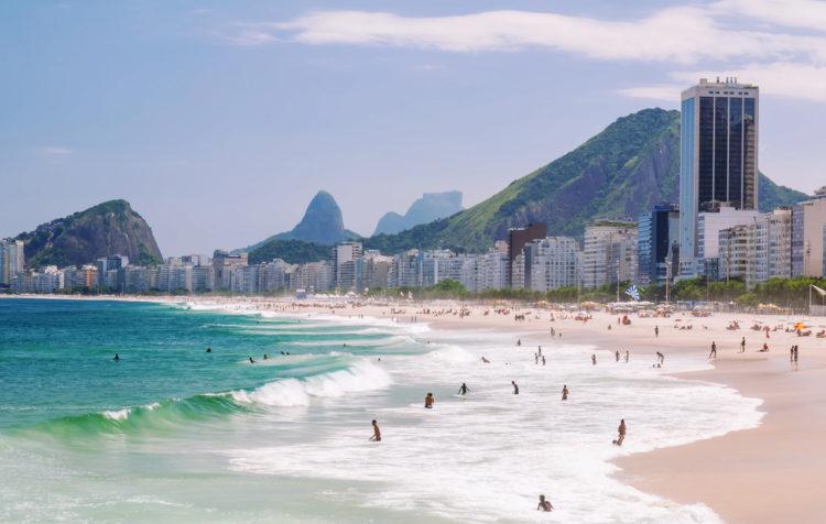 Достопримечательности Бразилии - Копакабана