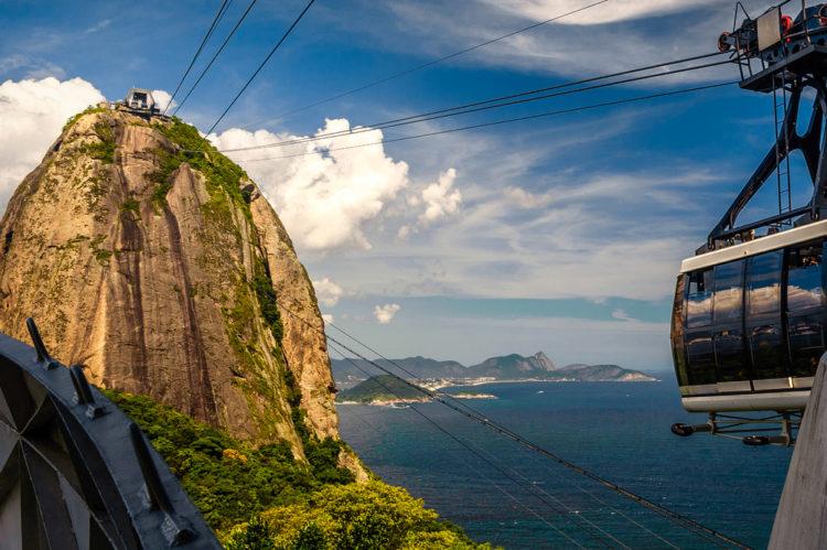 """Достопримечательности Бразилии - Гора """"Сахарная голова"""""""