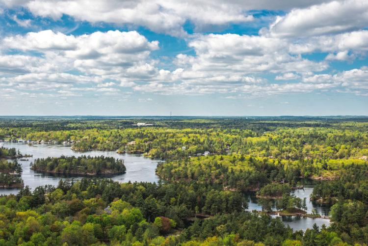 """Достопримечательности Канады - Парк """"Тысяча островов"""""""