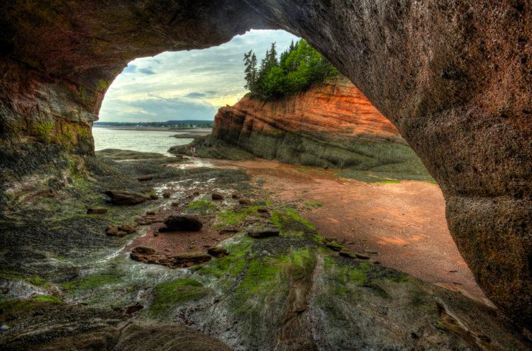 Достопримечательности Канады - Залив Фанди