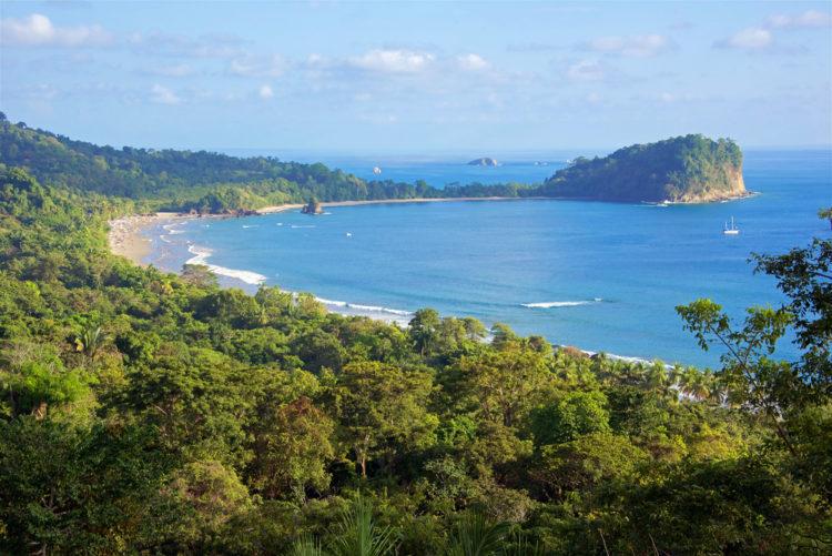 Достопримечательности Коста-Рики - Национальный парк Мануэль Антонио