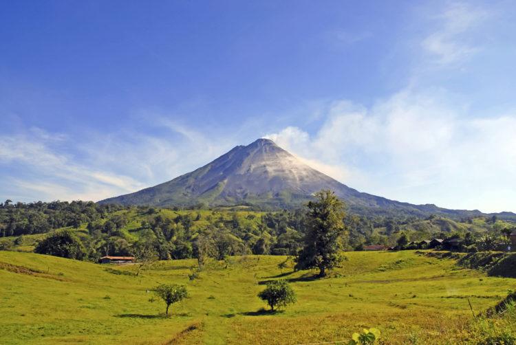 Достопримечательности Коста-Рики - Вулкан Ареналь