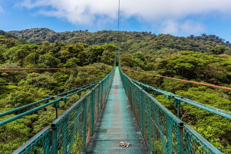 Достопримечательности Коста-Рики - Национальный парк Монтеверде