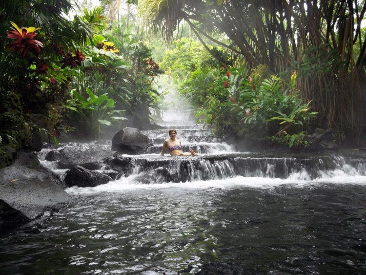 Достопримечательности Коста-Рики - Горячие источники
