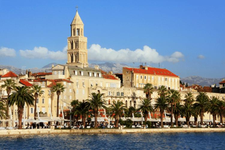 Достопримечательности Хорватии - Дворец Диоклетиана