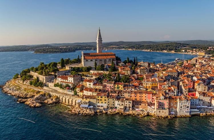 Достопримечательности Хорватии - Город Ровинь