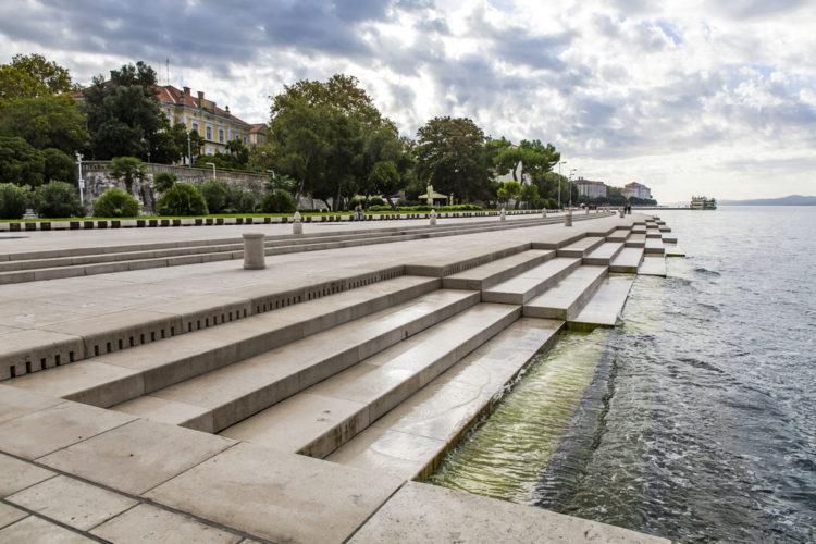 Что посмотреть в Хорватии - Морской орган