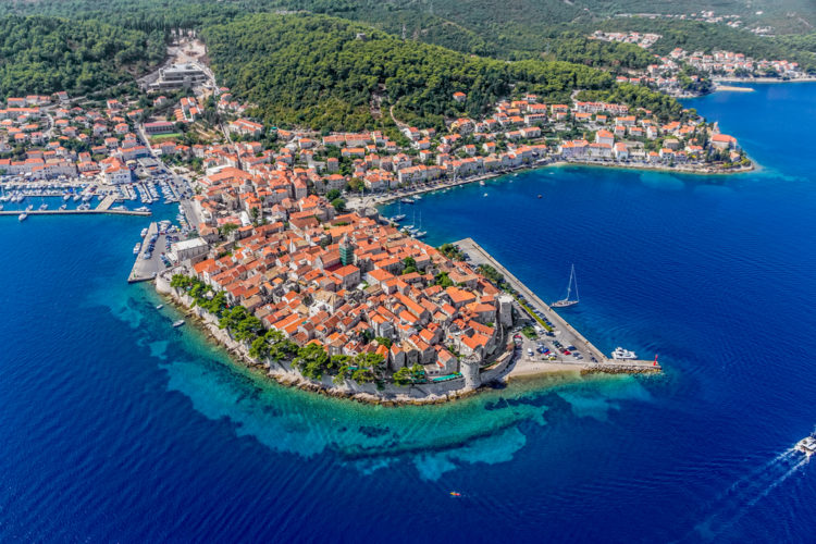 Что посмотреть в Хорватии - Остров Корчула