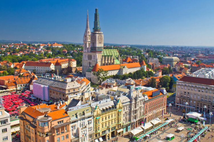 Достопримечательности Хорватии - Горний Град