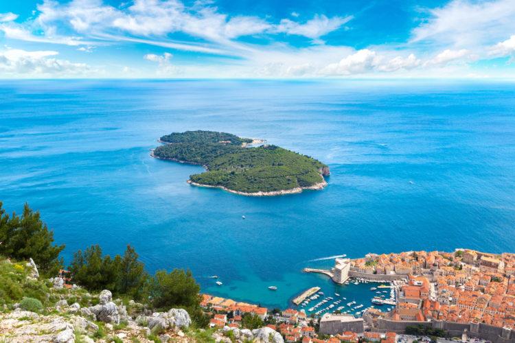 Достопримечательности Хорватии - Остров Локрум