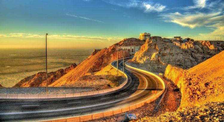 Достопримечательности ОАЭ - Гора Джебель Хафит