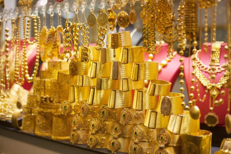 Достопримечательности ОАЭ - Золотой рынок