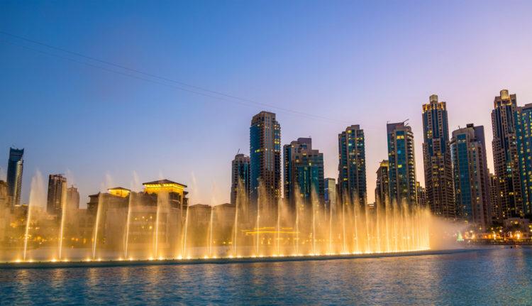 Достопримечательности ОАЭ - Поющие фонтаны