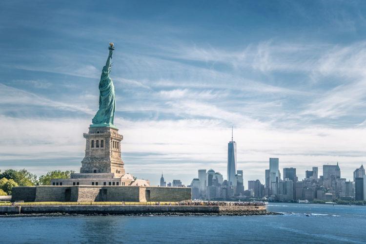 Достопримечательности США - Статуя Свободы