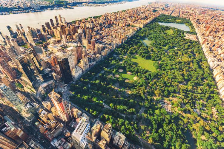 Достопримечательности США - Центральный парк