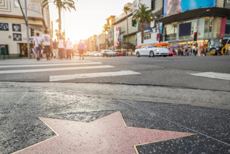 Достопримечательности США - Голливуд и Аллея звёзд