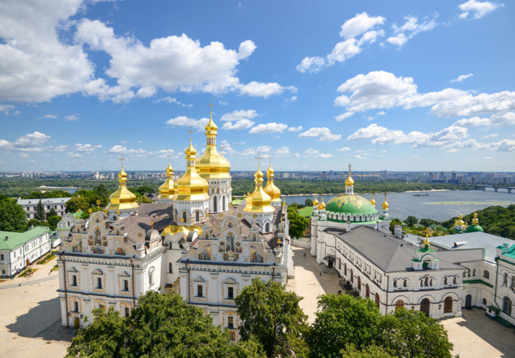 Достопримечательности Украины - Киево-Печерская лавра