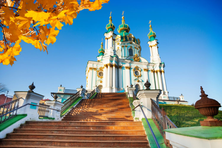 Достопримечательности Украины - Костёл Святого Андрея