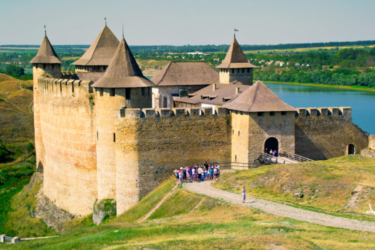 Достопримечательности Украины - Хотинская крепость