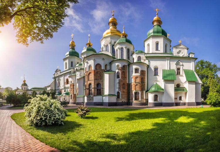 Достопримечательности Украины - Собор Святой Софии