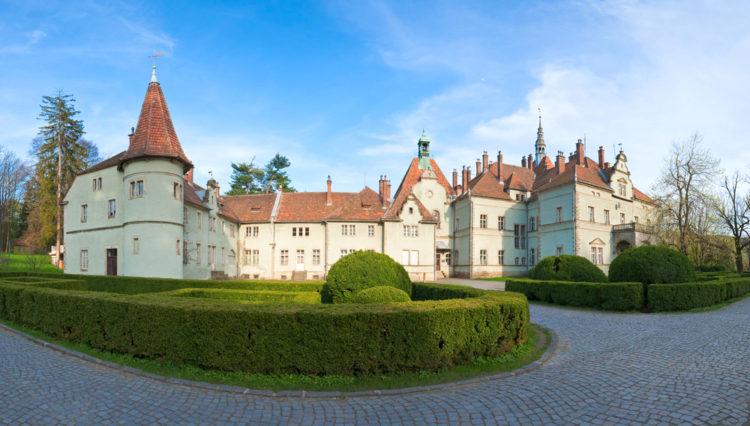 Достопримечательности Украины - Замок Шенборнов