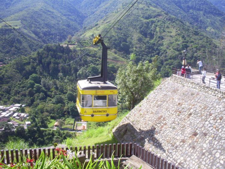 Достопримечательности Венесуэлы - Канатная дорога