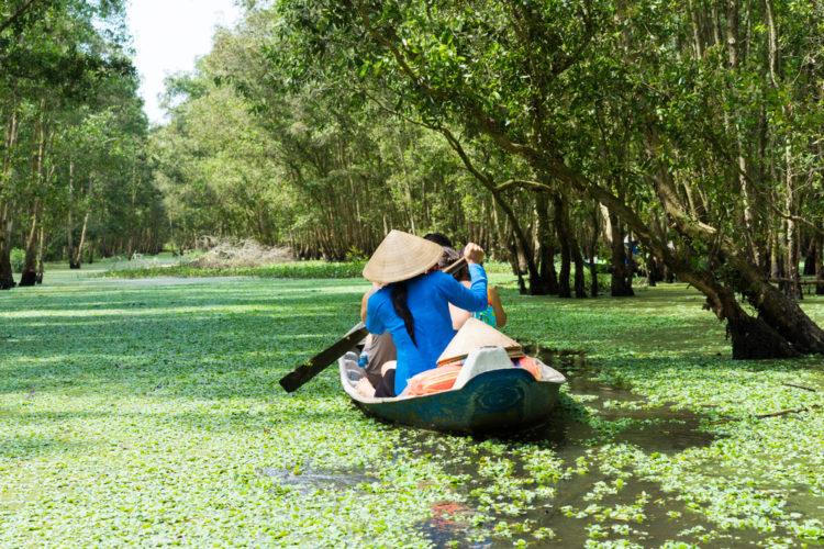 Достопримечательности Вьетнама- Дельта реки Меконг