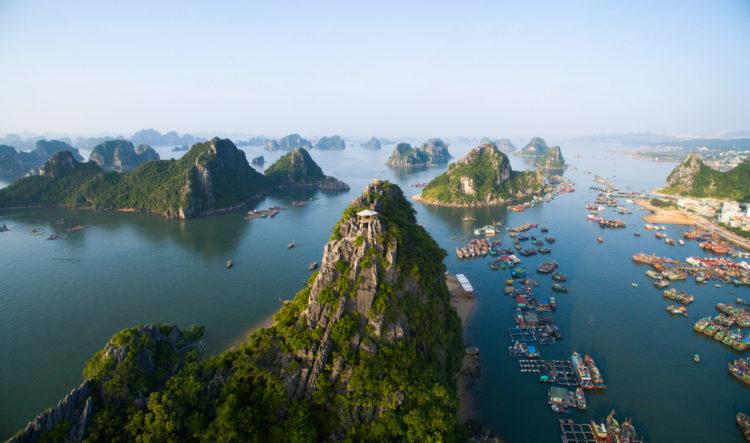 Достопримечательности Вьетнама - Бухта Халонг