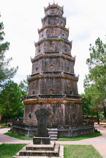 Достопримечательности Вьетнама - Пагода Тьен Му